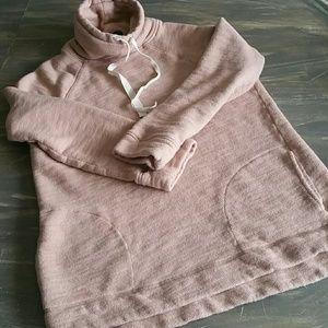 J crew shawl collar hoodie